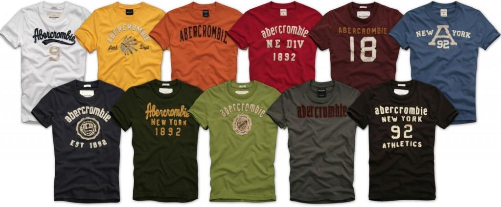 Comprar Camisetas Abercrombie Baratas